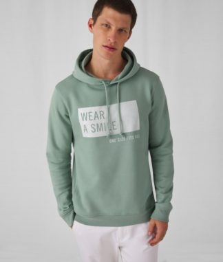 B&C Organic Hooded Sweat