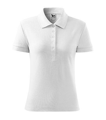 Koszulka Polo Damska Malfini Cotton - 00 Biały