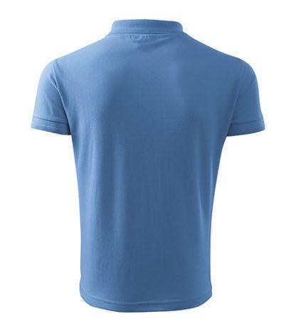 Męska Koszulka Polo Pique - 15 Błękitny