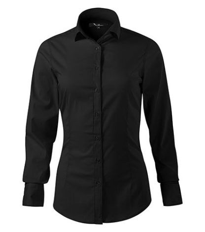Koszula damska dopasowana Malfini Premium Dynamic - 01 czarny