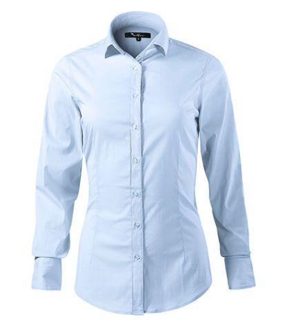 Koszula damska dopasowana Malfini Premium Dynamic - 82 light blue
