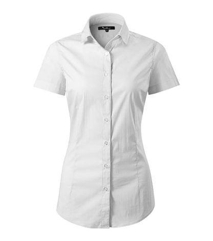 Koszula damska dopasowana Malfini Premium Flash - 00 biały