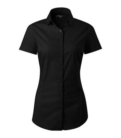 Koszula damska dopasowana Malfini Premium Flash - 01 czarny