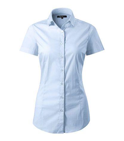 Koszula damska dopasowana Malfini Premium Flash - 82 light blue