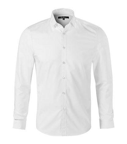 Koszula męska taliowana Malfini Premium Dynamic - 00 biały