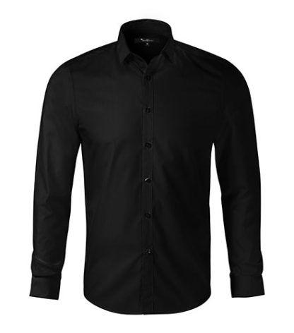 Koszula męska taliowana Malfini Premium Dynamic - 01 czarny