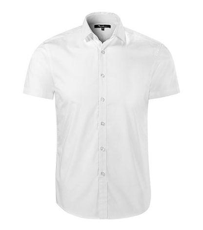 Koszula męska taliowana Malfini Premium Flash - 00 biały