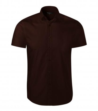 Koszula męska taliowana Malfini Premium Flash - 27 kawowy
