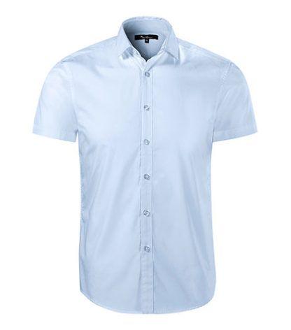 Koszula męska taliowana Malfini Premium Flash - 82 light blue