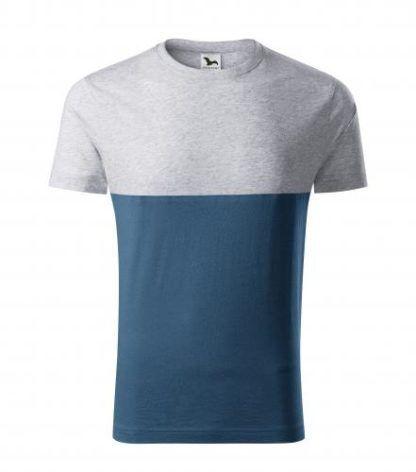 Koszulka Unisex Malfini Connection - 03 jasnoszary melanż