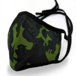Maseczki ochronne wielokrotnego użytku - Camo Green