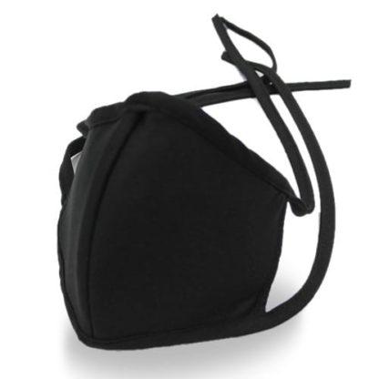 Maseczki ochronne wielokrotnego użytku - czarne